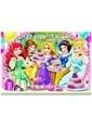 Sunman Clementoni Çocuk Puzzle Disney Prenses 2X20 Parça Renkli